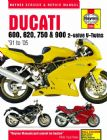 Ducati 600, 620, 750 and 900 2-valve V-Twins (91 - 05) Haynes Manual